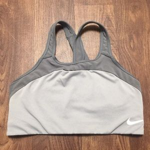 Nike Dri Fit Sports Bra Large Athletic Workout